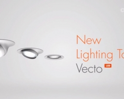 Ansorg new luminaires Vecto for the salesroom
